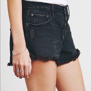 Free People Runaway Cutoff Shorts